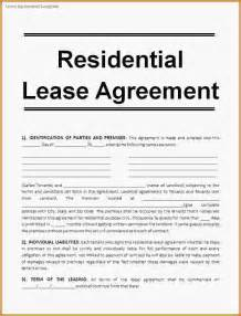 11 rental lease contract loan application form