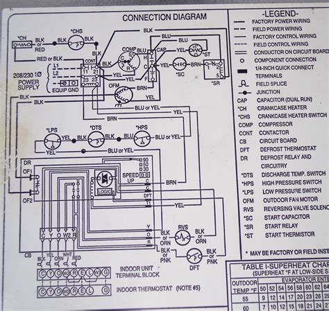 wiring diagram for carrier central air conditioner