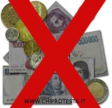 d italia cambio lire in decreto truffaldino per il cambio lira chi protesta