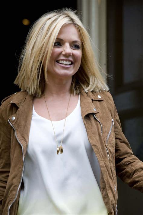 Is Geri Halliwells New The Real Thing by Geri Halliwell Leaving Glasgow S Hotel Du Vin Zimbio