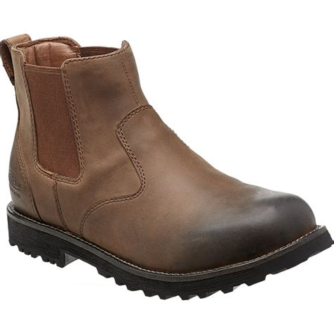 Comfortable Chelsea Boots by Keen Mens Tyretread Chelsea Boot Peanut Comfortable