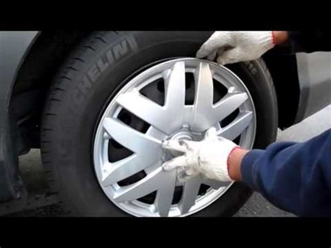 wheel cover installation youtube