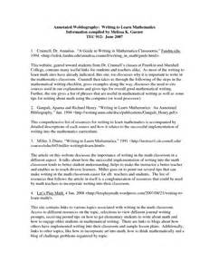Annotated Outline Apa Template by Sle Apa Annotated Bibliography Exle Book Covers