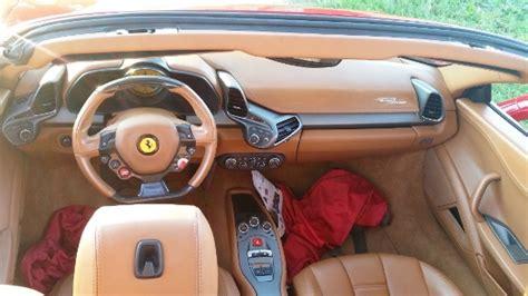 458 italia interni noleggio f458 italia