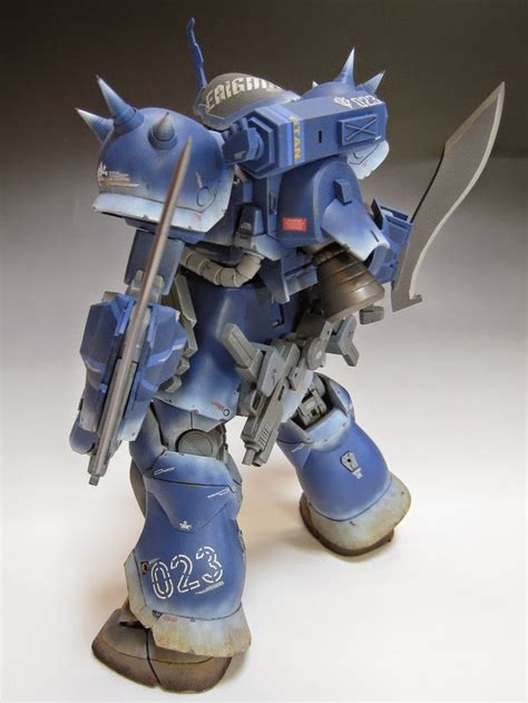 Kaos Gundam Mobile Suit 48 mg 1 100 gouf custom quot efreet enigma quot custom build gundam
