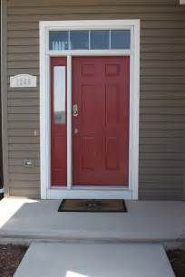front door paint colours our newly painted front door sherwin williams quot red bay quot dream home front door color ideas