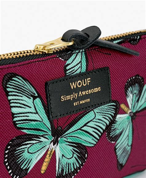 Pouch Buterfly butterfly small pouch wouf