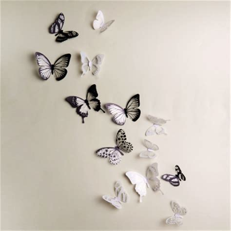3d wall stickers butterfly top quality lovely butterfly wall sticker 3d wall sticker