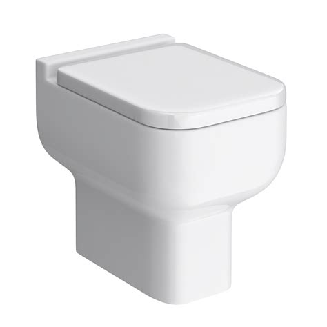 Plumb Back To Wall Toilet by Pro 600 Modern Back To Wall Toilet With Soft Seat