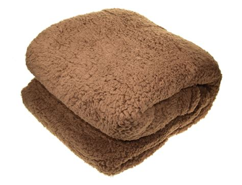 soft teddy fleece blanket cosy sofa bed luxury - Teddy Fleece Decke