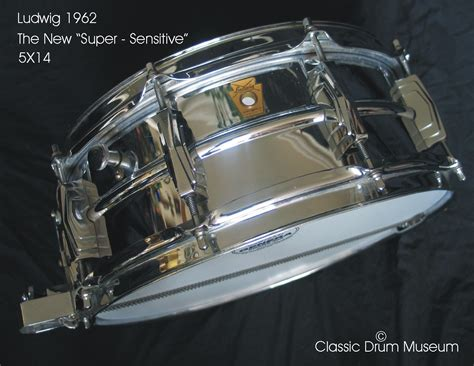 Chrome Search Sensitive Ludwig Sensitive 1962 Chrome Drum Percussion For Sale Nick Hopkin Drums
