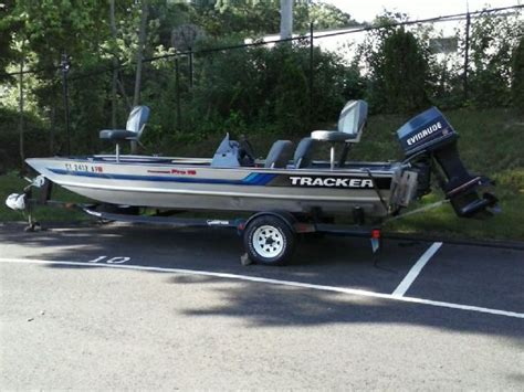 used boat trailers in ct 18 feet 1994 bass tracker bas tracker bass boat silver