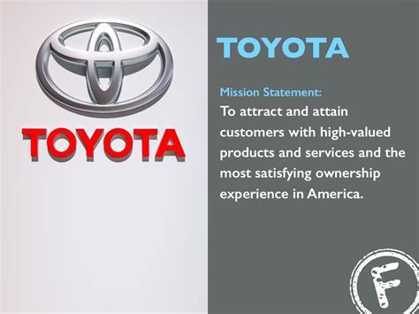 toyota of mission toyota mission statement to attract