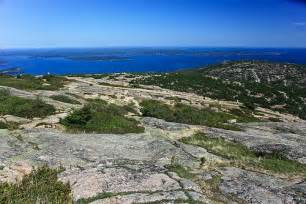 Acadia National Park Cadillac Mountain Cadillac Mountain Acadia National Park Travel Fond