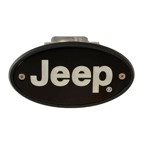 Jeep Hitch Cover Jeep Hitch Cover Black Engraved