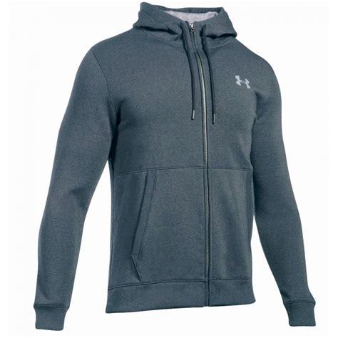 Sweater Hoodie Zipper Armour Athletic armour s ua threadborne fleece zip hoodie running from the edge sports ltd uk