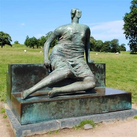 draped seated woman danny boyle and henry moore s daughter fight to save