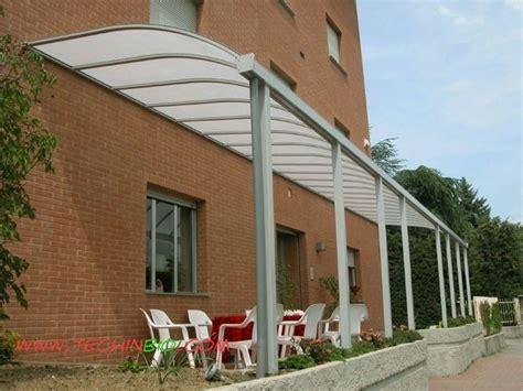 tettoia in plexiglass prezzi pensiline plexiglass pergole tettoie giardino