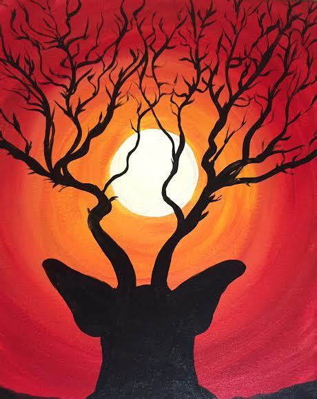 groupon paint nite deer st tap and table 11 29 2015 paint nite event