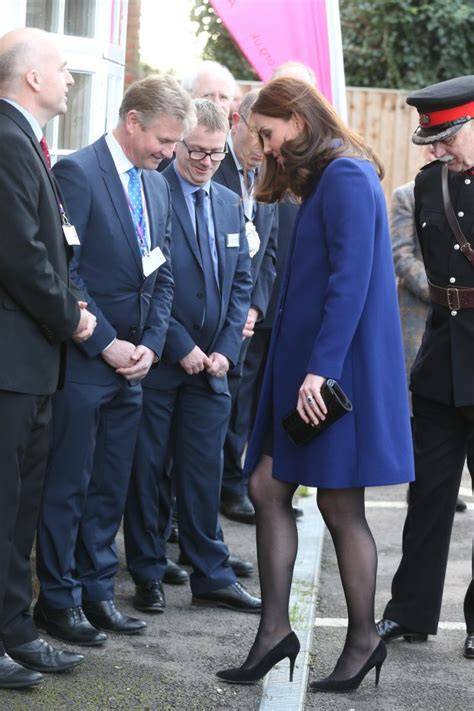 Kate Middleton Is Blooming As She Shows Baby Bump Ok