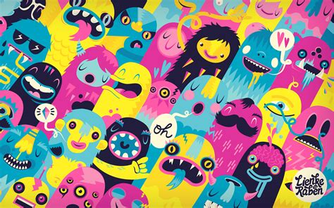 wallpaper cute monster monsters wallpapers hd wallpapers id 13177