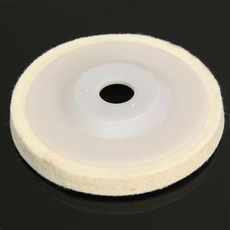Ath 1 Inch 25mm Wool Felt Polishing Disc 2 3mm Backing Pad buy wholesale felt polishing pad from china felt polishing pad wholesalers aliexpress