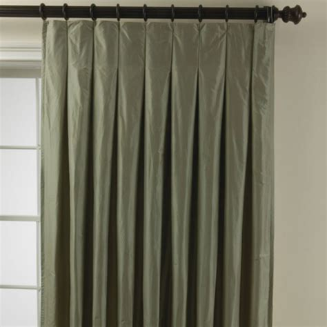 box pleat drapes guide to curtain styles and designs portfolio design blog