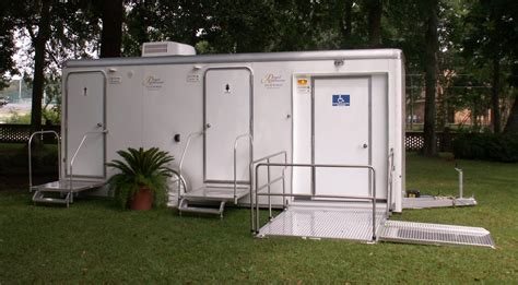 mobile bathrooms ada compliant portable restroom trailer royal restrooms