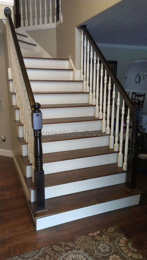 Banister Spindles Metal Black And White Staircase Railing 1 Best Staircase Ideas
