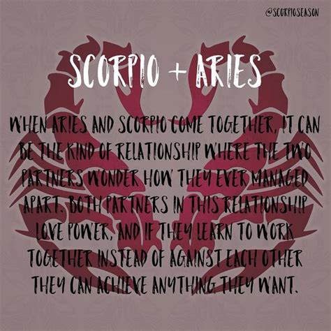 best 25 aries and scorpio ideas on pinterest what is a