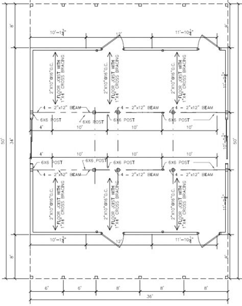 free pole barn plans blueprints 37 free pole barn plans that save you money