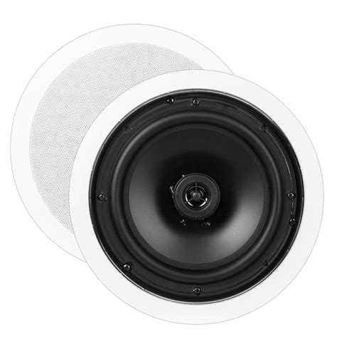 8 ceiling speakers ceiling speaker pair ice800 outdoorspeakerdepot