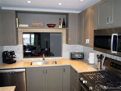 Modern Painted Kitchen Cabinets Painted Kitchen Cabinets Contemporary Kitchen Minneapolis By Cliqstudios