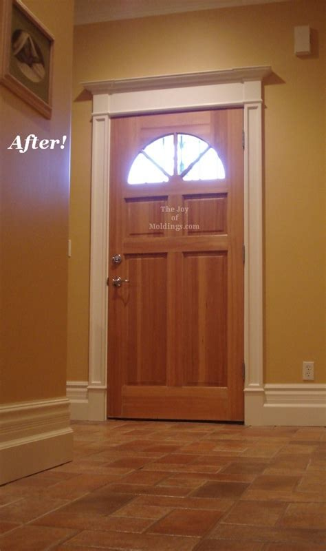 Molding Doors A C Front Door Crown Molding