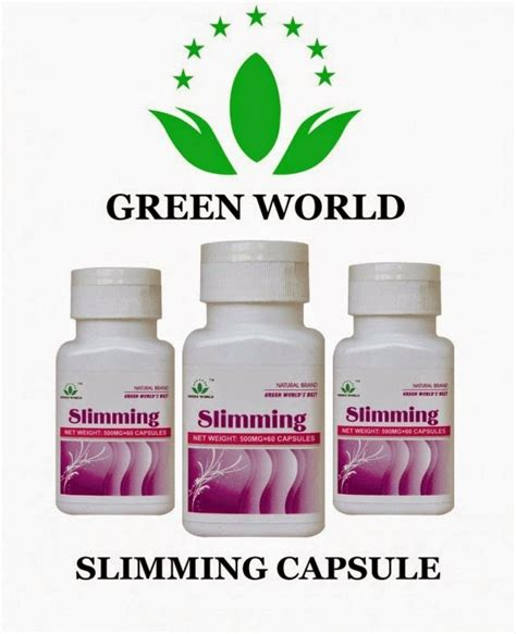 Jual Slimming Capsule Green World Di Surabaya harga green world slimming capsule asli