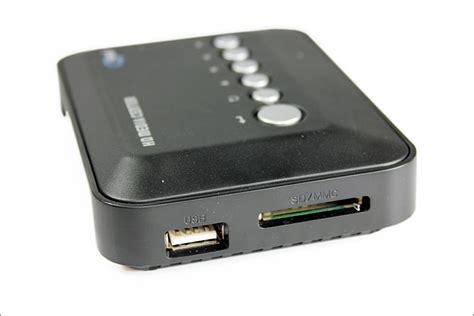 External Disk Rm mp5 hd media player center usb external hdd sd ms support