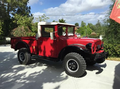 1962 dodge for sale 1962 dodge power wagon m37 for sale