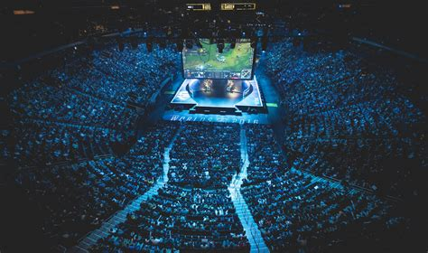 Square Garden Will Call by Amazing Esports Stadium Pictures From Lol World S 2016