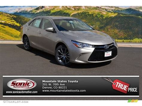 Toyota Camry Creme Brulee 2016 Creme Brulee Mica Toyota Camry Xse 107106485