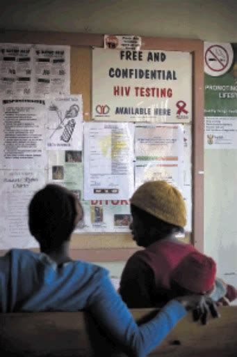 Banks To Undergo Aids Test On Show by Clinic Forces Hiv Tests