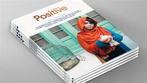 design news magazine digital edition redesigning a magazine that publishes only positive news