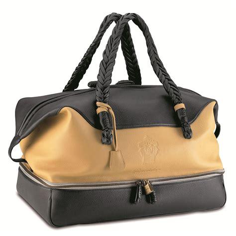 travel bag pineider cervinia deerskin leather s travel bag