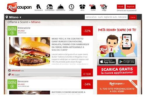 red coupon modena