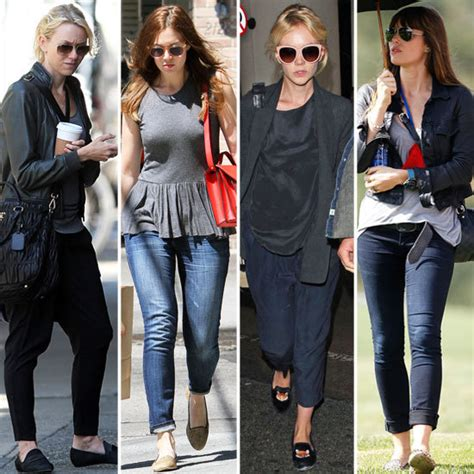 celebrity women wearing loafers celebrities wearing loafers fall 2012 popsugar fashion