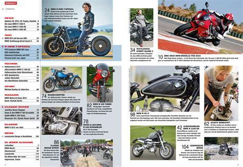 Motorrad Classic Inhaltsverzeichnis by Bmw Motorr 228 Der Ausgabe 51