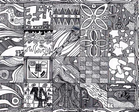 gambar wallpaper motif garis contoh motif batik fauna contoh two
