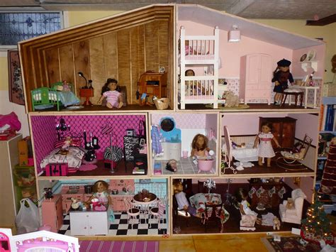 images of american girl doll houses doll house plans for american girl or 18 inch dolls 5 room 17 best images about