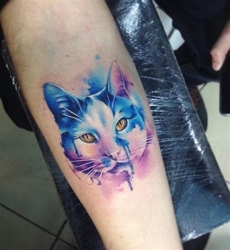 watercolor tattoos cat 100 exles of cat neat tattoos