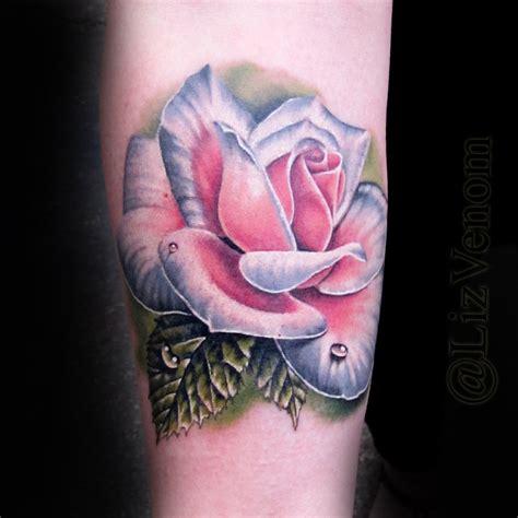 flower tattoo edmonton best flower tattoo liz venom edmonton bombshell by