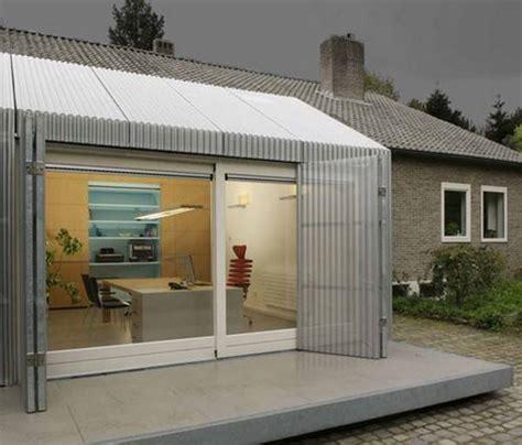 Garage Office Ideas by Bright Garage Redesign Idea Creating Modern Home Office
